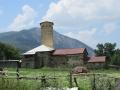 Wieże rodowe w Mestii znajdujące się na światowej liście dziedzictwa kulturalnego i przyrodniczego UNESCO.